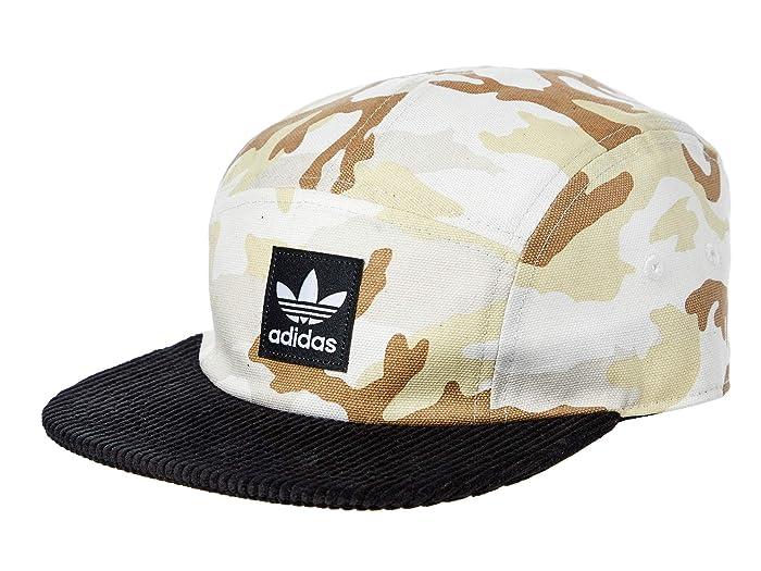 adidas Originals  Originals Sonoran 5-Panel Strapback (Desert Camo/Black) Caps
