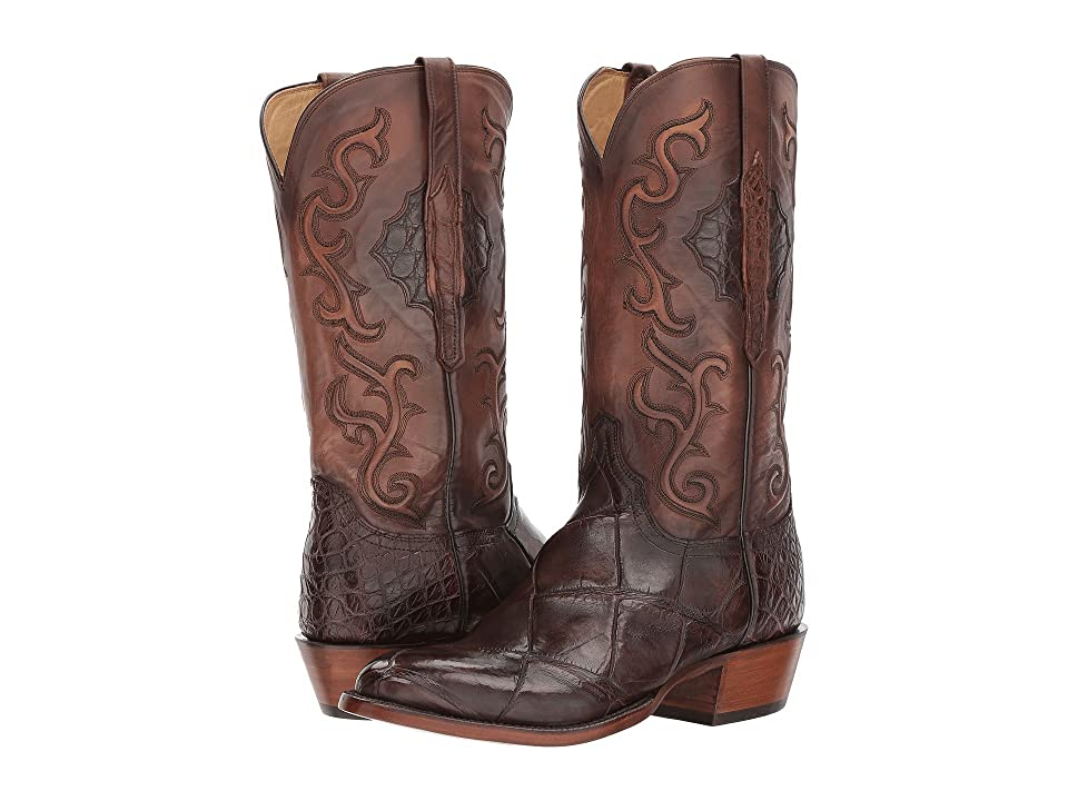 Lucchese Ace (Chocolate) Cowboy Boots