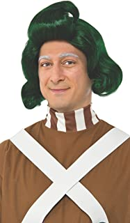 Rubie's Costume Co. Men's Willy Wonka & The Chocolate Factory Oompa Loompa Wig