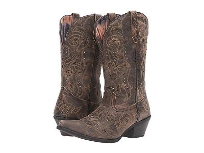 Laredo Vanessa (Black/Taupe) Cowboy Boots