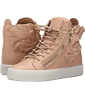 Giuseppe Zanotti - Hi-Top Winged Sneaker