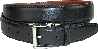 Men's Mignon Garrison Grain Calfskin Feather Edge Belt