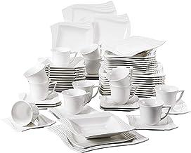 faïence 1 set, 12-te Creatable 14397 Service de table organic Oslo pour 6 personnes