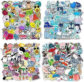Firtink 200 stücke Aufkleber Wasserdicht Vinyl Stickers Graffiti Style Decals für Wasserflaschen, Skateboard, Gepäck, Motorrad, iPhone, DIY Party Supplie