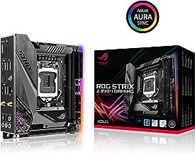 ASUS ROG STRIX Z390-I Gaming - Placa base Gaming mini-ITX Intel de 8a y 9a gen, LGA 1151 con cajetín de E/S y disipador VRM, Intel Wi-Fi, DDR4 4500+ , M.2 con disipación, SATA 6 Gbps y USB 3.1 Gen. 2