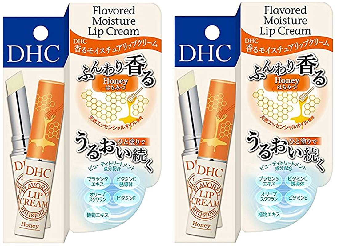 バルーン友情無【2個セット】DHC 香る モイスチュア リップクリーム はちみつ×2個
