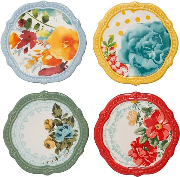 The Pioneer Woman Flea Market Coasters Set Of 4