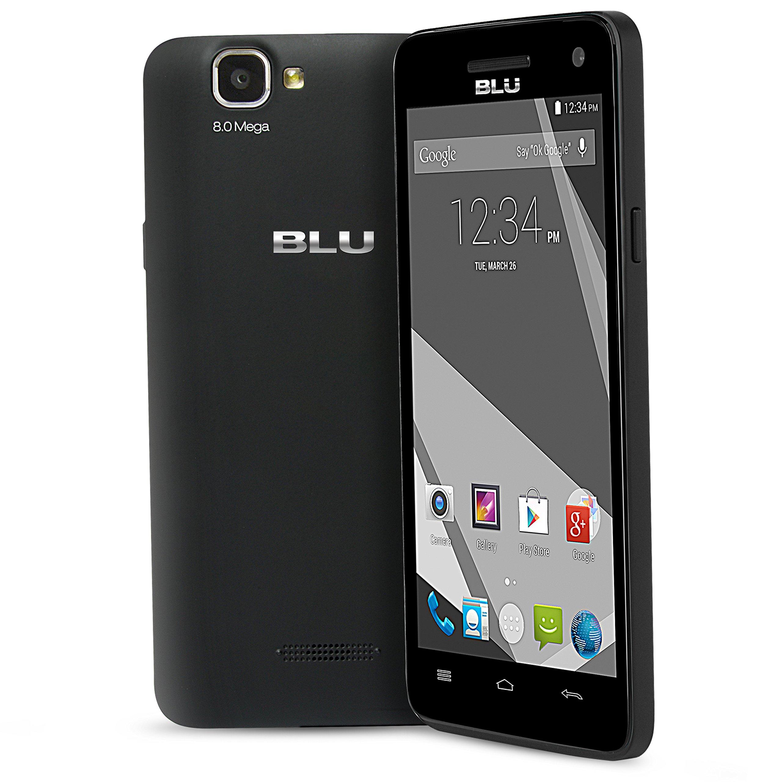 BLU 5.0 Estudio C HD teléfono móvil Abierto, Negro: Amazon.es ...
