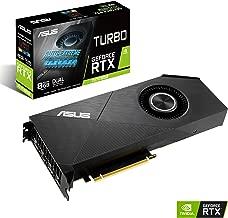 ASUS GeForce RTX 2070 Super 8G EVO Turbo Edition GDDR6 HDMI DisplayPort 1.4 Graphics Card (TURBO-RTX2070S-8G-EVO)
