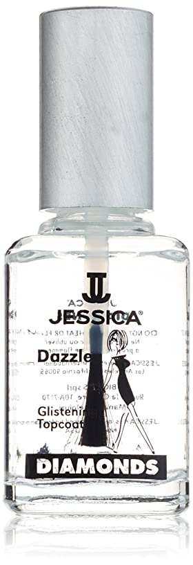段落解読するアルカイックJESSICA Diamonds Dazzle Glistening Top Coat 14.8 ml