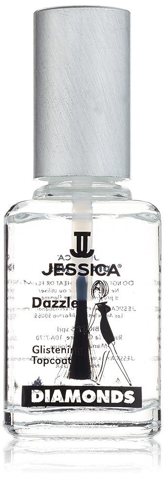 称賛代わりに中央値JESSICA Diamonds Dazzle Glistening Top Coat 14.8 ml