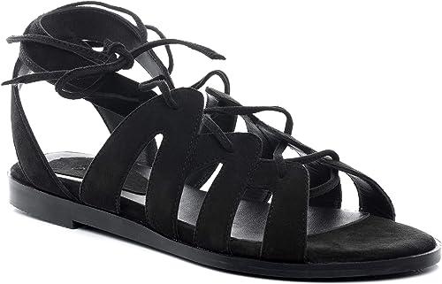 BACCINI Sandale Cuir Raja 40 EU Nu-Pieds Claquette Noir