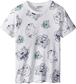 Kenzo Kids Tee Shirt Tigers (Toddler/Little Kids)