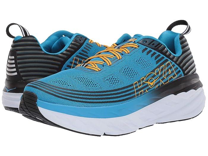 Hoka One One  Bondi 6 (Dresden Blue/Black) Mens Running Shoes