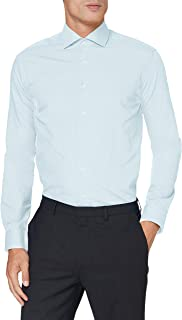 OppoSuits Men's Everyday Fitted Button-up Shirt with Long Sleeves