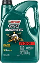Best Castrol 03060 GTX MAGNATEC 0W-20 Full Synthetic Motor Oil, Green, 5 Quart Review