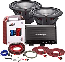 "$889 » Sponsored Ad - Rockford Fosgate R1200-1D Mono subwoofer Amplifier Bundled with + (2) Rockford Fosgate P3D4-12 Punch P3 12""..."