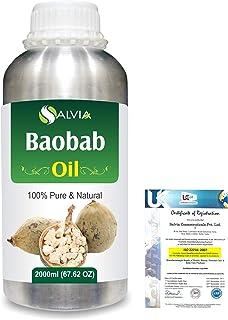 Baobab (Adansonia Digitata) Natural Pure Undiluted Uncut Carrier Oil 2000ml/67 fl.oz.