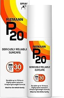 Riemann P20 Una Vez al Día 10 Horas protección SPF30 Protector solar 100ml