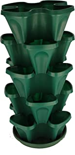 Best stacking garden pots Reviews