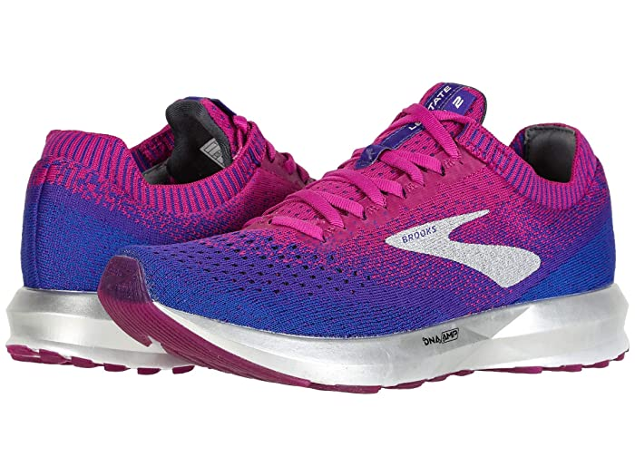 Brooks Levitate 2 (Aster/Purple/Blue) Womens Running Shoes