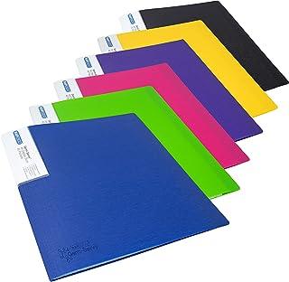 Rapesco 1647 Germ-Savvy™ Antibacterial: A4 Display Book 40 Pocket - Assorted – 6 Books