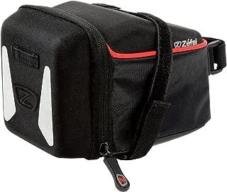 Zefal Bolsa para Asiento Iron Poliéster 840D Soporte Velcro, Color Negro, Extra Grande, 2 l