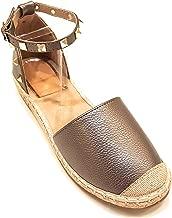 VICTORIA ADAMES Gaby Pewter Espadrilles Shoes