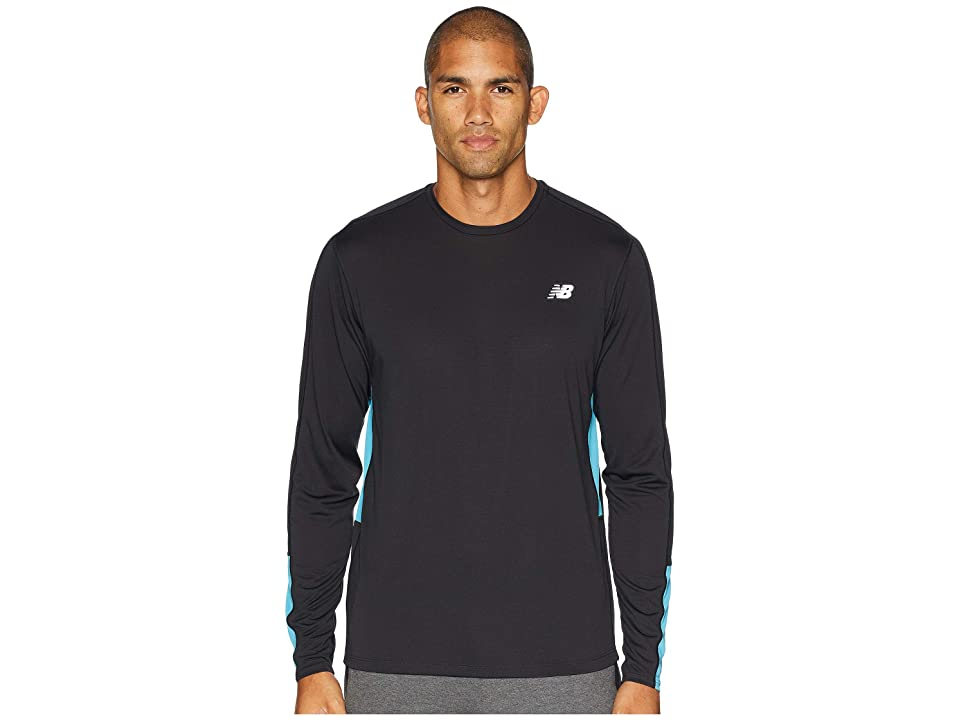 New Balance Accelerate Long Sleeve (Cadet) Men