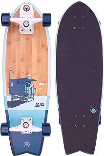 Z-Flex Bamboo Surfskate Fish Longboard, Adultos Un...