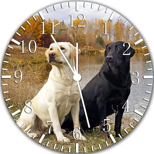 Labrador Retriever Frameless Borderless Wall Clock Y35 Nice For Gift Or Room Wall Decor