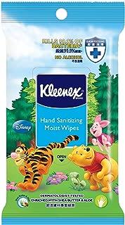 Kleenex Hand Sanitizing Disney Wipes, Case, 10ct (Pack of 80)