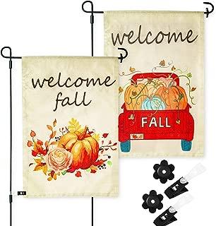 Best halloween fall garden flags Reviews