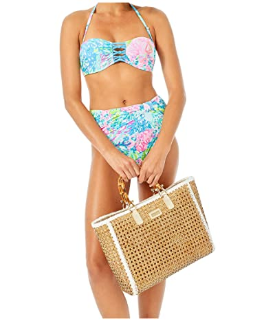 Lilly Pulitzer Sandy Lattice Bandeau (Multi Fished My Wish) Women