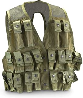 Military Outdoor Clothing Never Issued U.S. G.I. Medium Olive Drab Nylon Grenade Vest