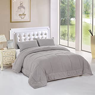 Best grey fluffy comforter Reviews
