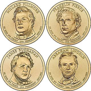 2010 P, D Presidential Dollar 8-Coin Set Uncirculated