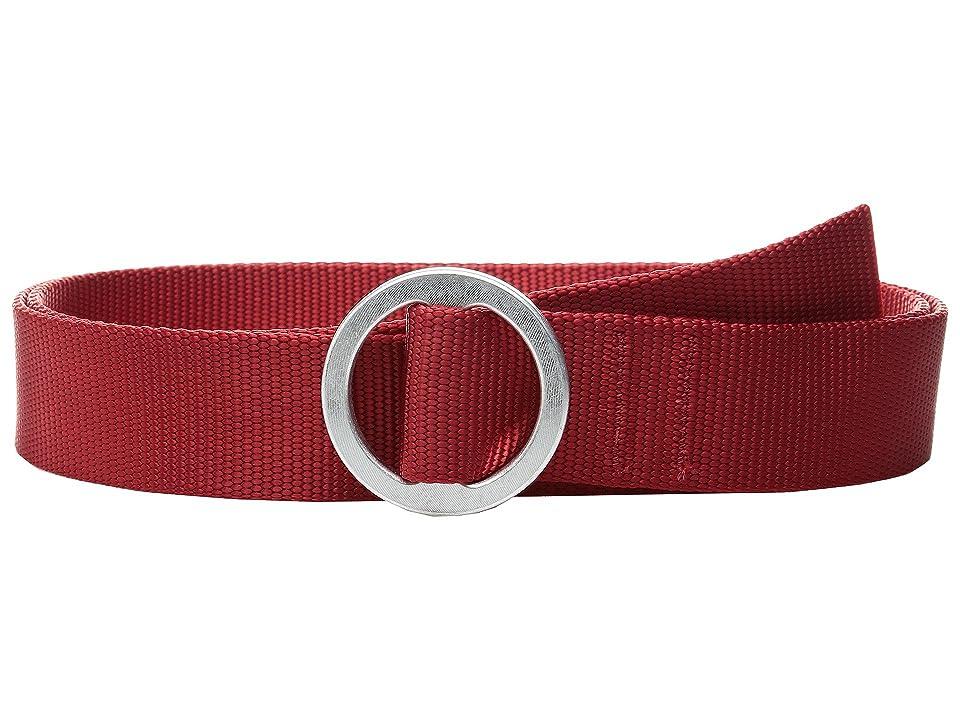 Topo Designs Web Belt (Red) Belts