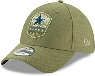 cowboys new era salute to service hat