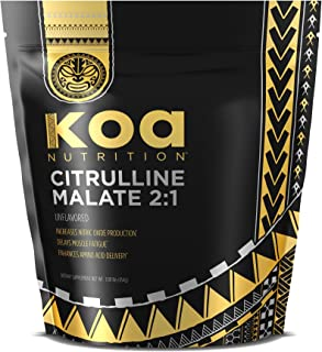 Citrulline Malate 2:1 by Koa Nutrition | Performance Enhancing Supplement for Optimizing Recovery & Strength Gains - 1lb Bag