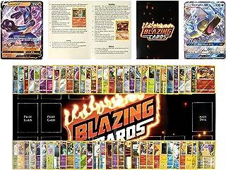 136 Pokemon Cards - 1 Pokemon GX, VMAX, OR V - 10 Holo Cards - 2 Pokemon Deck Box - 2 Pokemon Playmat - Pokemon Rulebook -...