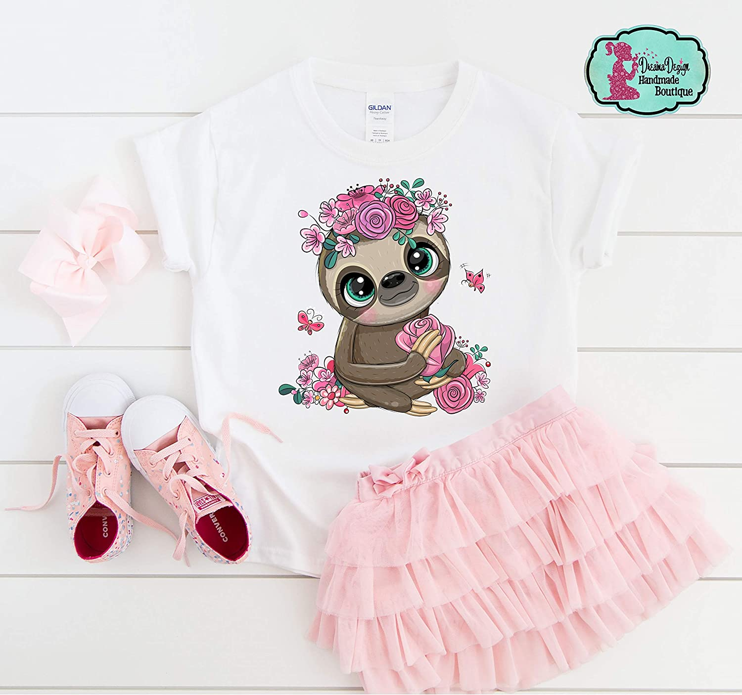 Adorable Direct stock discount Sloth Graphic T-Shirt Birthday Day Super sale period limited Gift Valentine's Slo