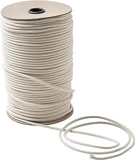 IPEA Corde de coton macramé naturel - 4 mm x 100 mètres - Rouleau super long - Fil de couture pour travaux manuels, décora...