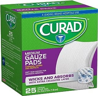 Curad Medium Gauze Pads 3