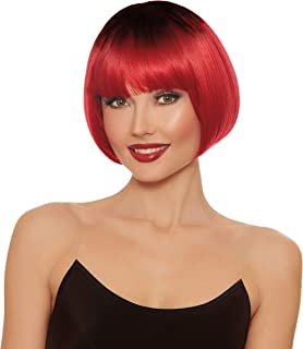 Women's Dip Dye Short Bob Wig