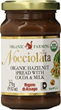 Rigoni Di Asiago Nocciolata Organic Hazelnut Spread, Cocoa and Milk, 9.52 Ounce Jar (Pack of 6)