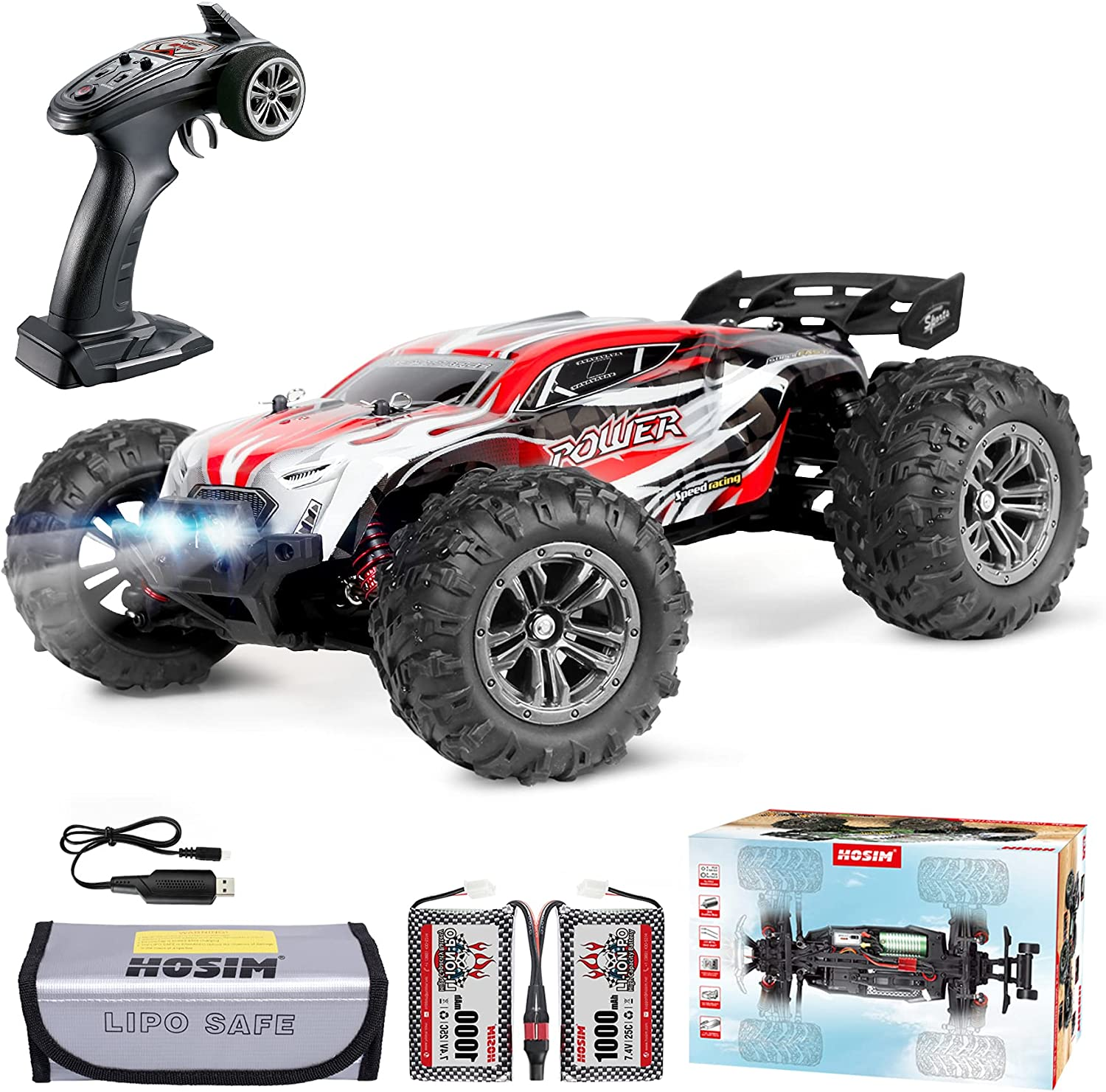 Hosim 52+ KMH 2845 Brushless Direct sale of manufacturer RC Cars Finally popular brand Remot 1:16 Large Size Scale