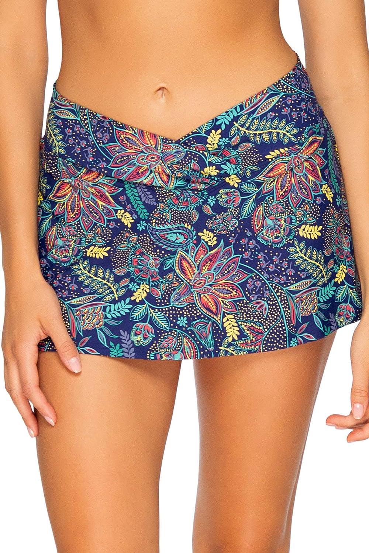 Sunsets Women's Summer Lovin Swim Skirt Bikini Bottom Swimsuit