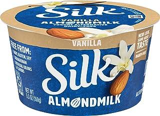 Silk Almondmilk Dairy-Free Yogurt Alternative, Vanilla, Soy-Free, Gluten-Free, Vegan, Non-GMO Project Verified, 5.3 oz.