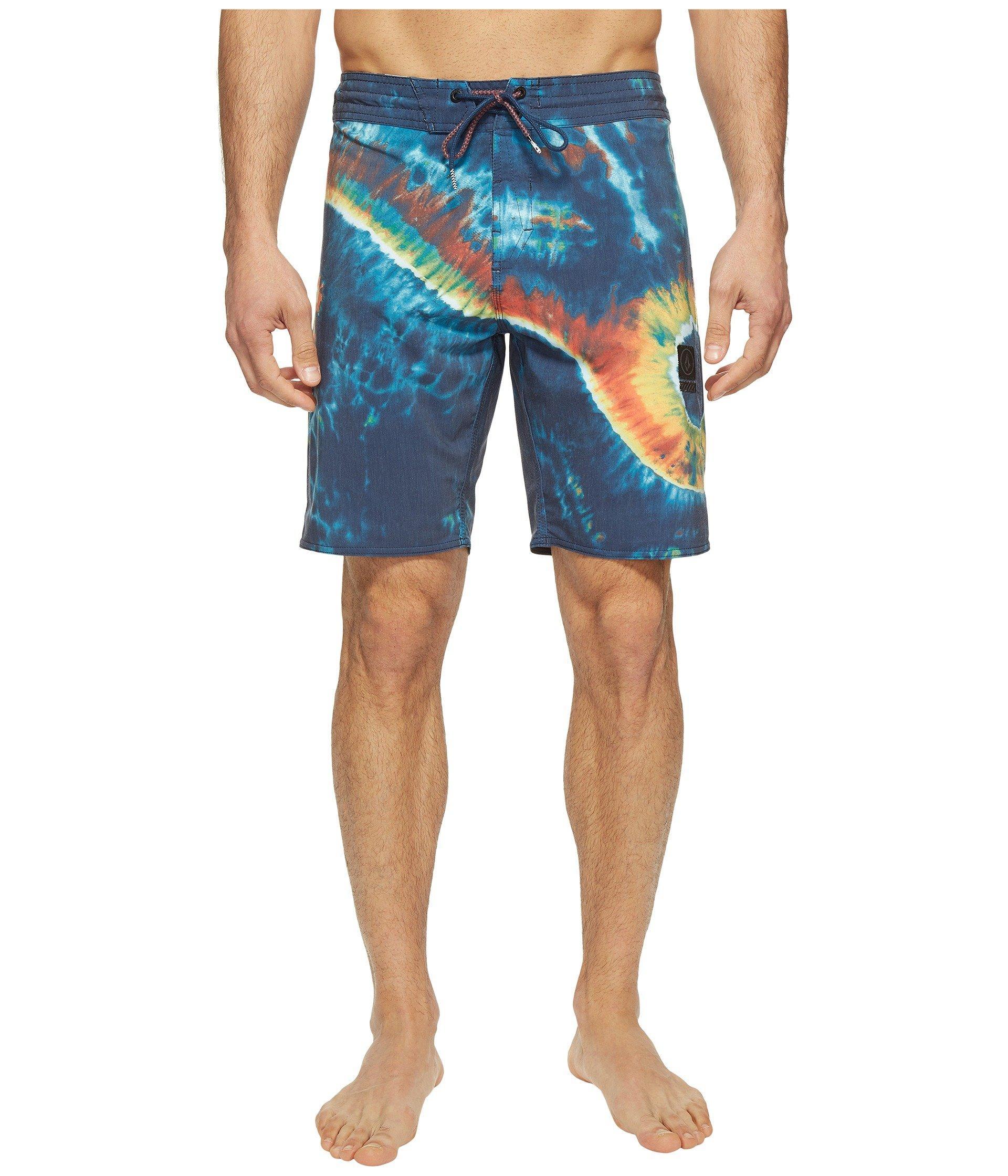 "Pantalóneta de Baño para Hombre Volcom Yin Yang Slinger 19"" Boardshorts  + Volcom en VeoyCompro.net"